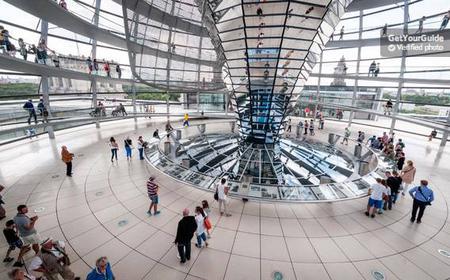 Deutsche Tour: Parlamentsviertel & Reichstag Glaskuppel