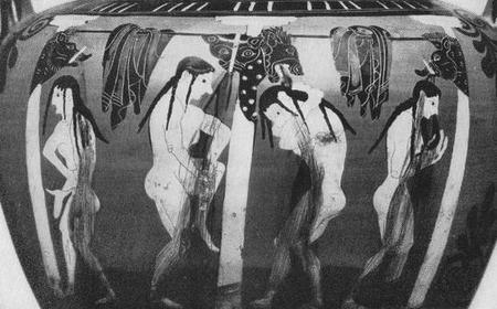 Eroticism in Antiquity - guide in Berlin Altes Museum