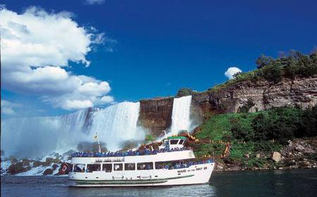 Niagara Falls USA Tour w/ Cave of the Winds & Boat Ride