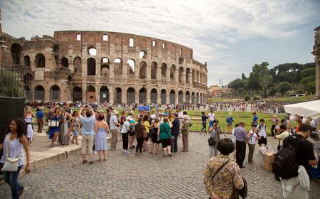 Colosseum, Roman Forum & Palatine Access with Audioguide