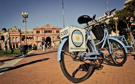 24-Hour BUE Bike Rental in Buenos Aires