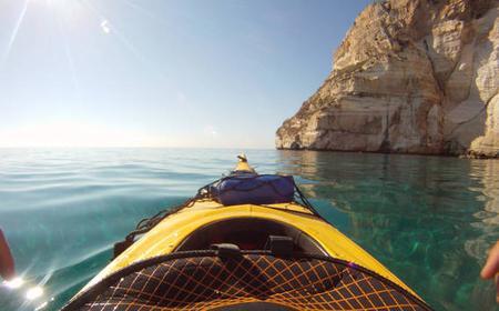 Cagliari: Kayak Tour around The Devil's Saddle