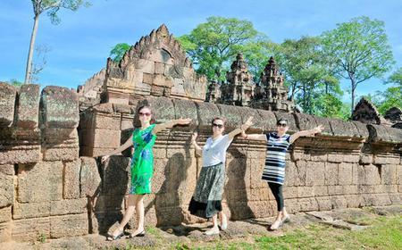 Full-Day Banteay Srei Seat In Coach Tour