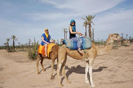 Camel Ride in Marrakech
