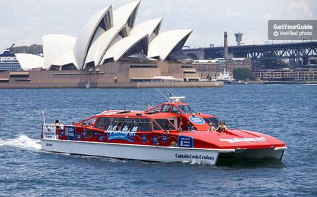 Sydney Harbour Hop-on Hop-off Ferry & Sydney Tower Eye Entry
