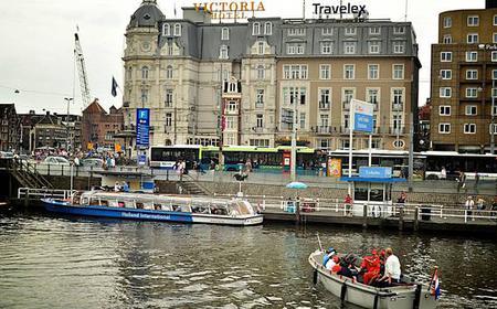 Amsterdam: Private Pizza Cruise