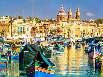 Valletta Marsamxett Harbor and Grand Harbor Cruise