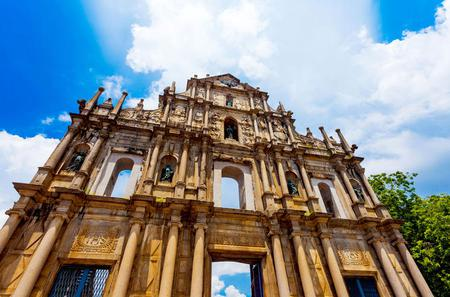 Full-Day Macau Sightseeing Tour with Transfer to Hong Kong