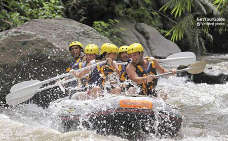 Bali: Ayung River White Water Rafting with Lunch