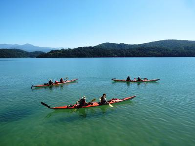 Kayaking on the Bay of Paraty
