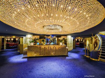 Seine River Dinner Cruise and Lido de Paris Cabaret Show