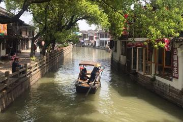 Private Day Tour To Zujiajiao Ancient Water Town and Shanghai Scenic Highlights Including Lunch