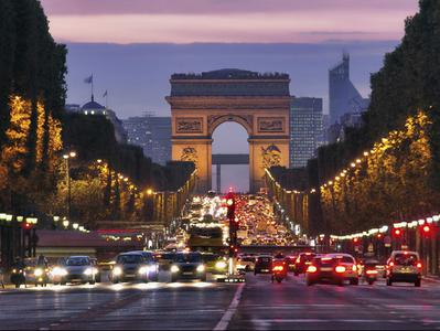 River Seine Cruise + Paris Illuminations Tour + Dinner on the Champs Elysees