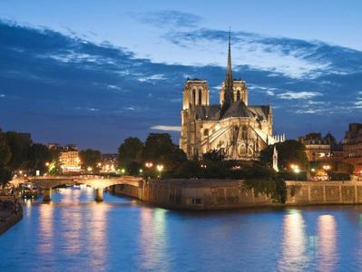 Dinner at the Eiffel Tower plus Seine River Cruise and Lido Cabaret Show