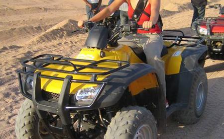 From Dahab: Quad Bike to Blue Hole Snorkeling Trip