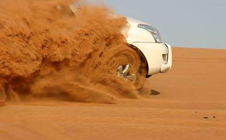 From Dubai: 4-Hour Morning Red Dunes Desert Safari
