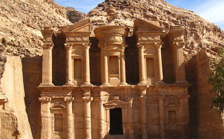 Petra: Full-Day Tour, Lunch, and Aqaba Boat, from Dahab