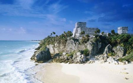 From Cancun: Full-Day Tulum, Coba & 2 Reef Snorkeling