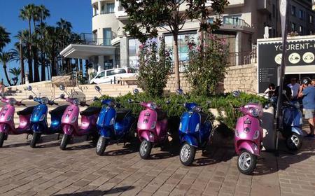 Cannes 2 Hours Vespa Tour