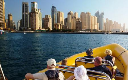 Dubai Marina and Palm Lagoon Sightseeing Cruise