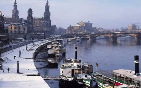 Wintermärchen Dresden: City tour by boat