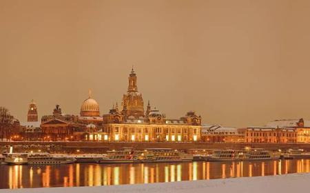 Dresden: Castles ride in winter by ship