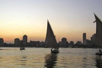Cairo by Night Tour Including Felucca Ride and Bustling Khan El Khalili Souk