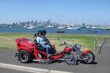 Trike Tour of Melbourne's West Gate and Williamstown for Two