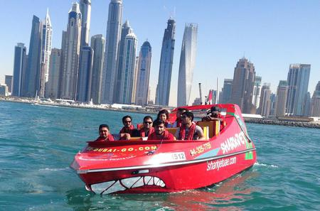 Sharkjet Sightseeing Tour in Dubai
