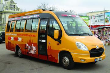 Hop on-Hop off Bus City tour: Down Town Line, Brewery Line and Vysehrad Line and Cruise Tour