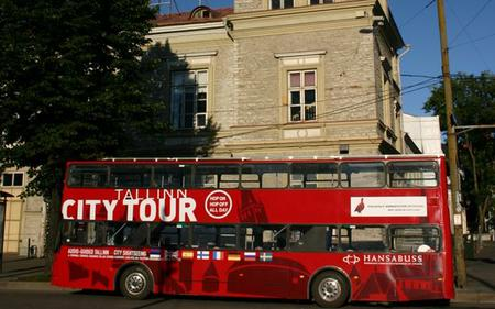 Red Bus Tallinn: Comprehensive Hop-On, Hop-Off Tour
