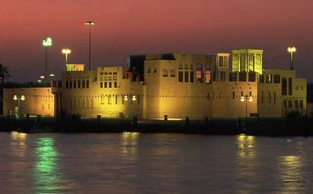 Dubai: lights drive to sunset