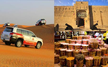 Dubai City Tour & Afternoon Desert Safari combo