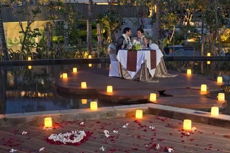 Dining Romance In Jimbaran