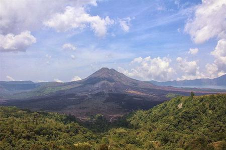 Kintamani Volcano Private Helicopter Charter Tour