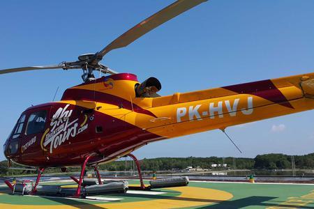 60-Minutes Kintamani Volcano Helicopter Tour