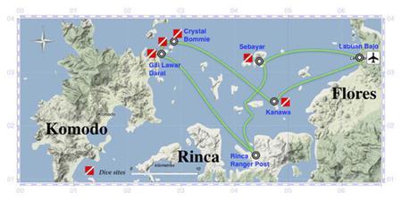 Flores & Komodo Diving Cruise 4 Days
