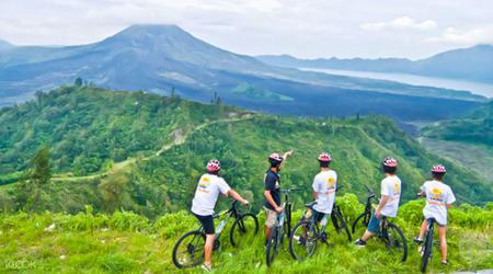 Mount Batur & Elephant Park Cycling