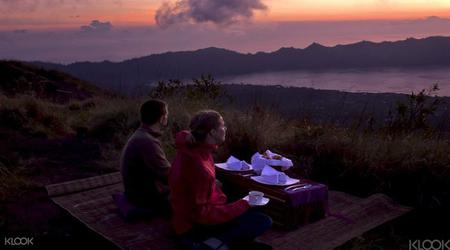 Sunrise Breakfast atop Volcano Batur