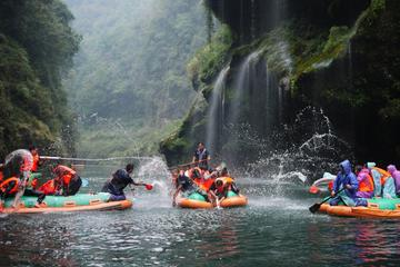 Day Trip of Mengdong River Rafting in Zhangjiajie