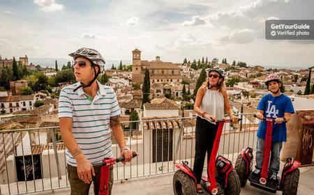 5-Hour Alhambra Walk & Segway or Ebike Tour of Granada