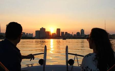 Sunset City on Saigon River by Luxury Speedboat