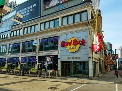 Hard Rock Cafe Toronto Lunch or Dinner