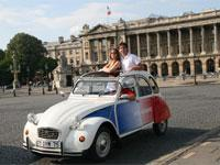 Romantic Paris Tour by 2CV