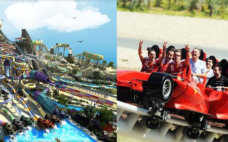 Ferrari World & Yas Waterworld Combo Tickets Package