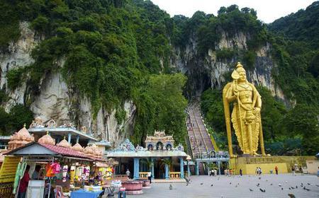 Cultural Temple Tour of the Batu Caves in Kuala Lumpur