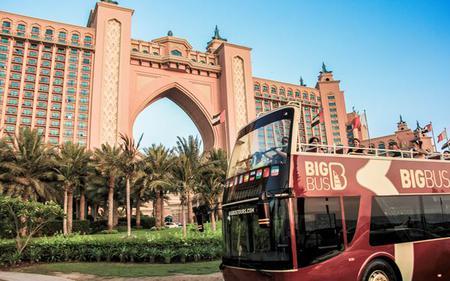 Big Bus Dubai : Hop-On, Hop-Off Day Tour with 24,48 & 72 hours option