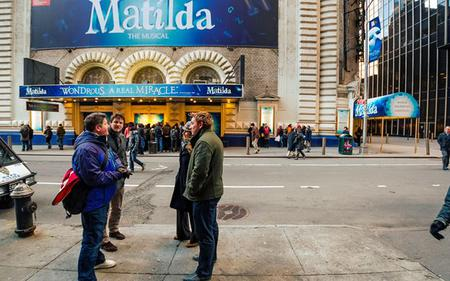 Broadway highlights guided tour including exclusive access to Disney theatre and Props studio