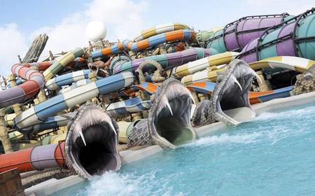 Abu Dhabi: Ferrari World & Yas Waterworld Combo Ticket