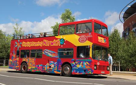 Norwich Hop-On Hop-Off Tour